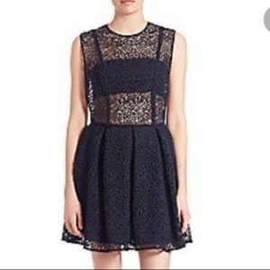 Prose & Poetry Star Open Side Cotton Mini Dress
